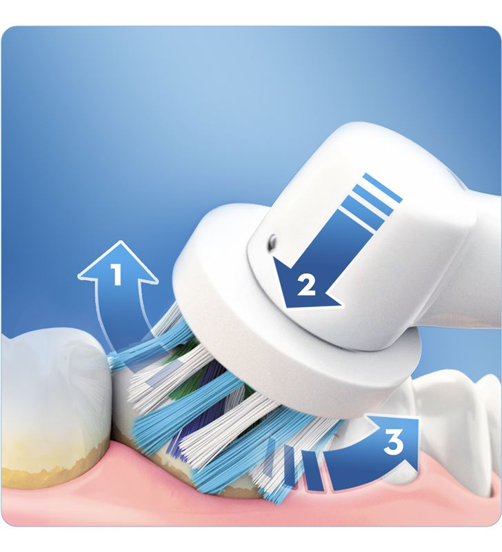 Braun cepillo dental pro600 morado cross action PRO600MORADO - 26532560_1832