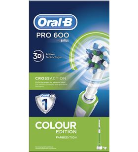 Braun cepillo dental pro600 verde cross action PRO600VERDE - 29725402_9229