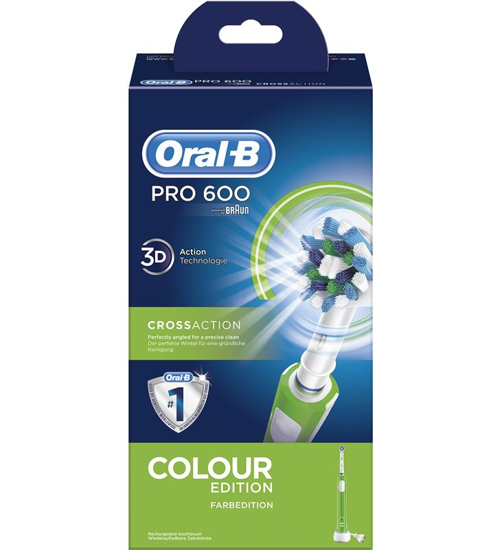 Braun cepillo dental pro600 verde cross action PRO600VERDE - 29725402_1822