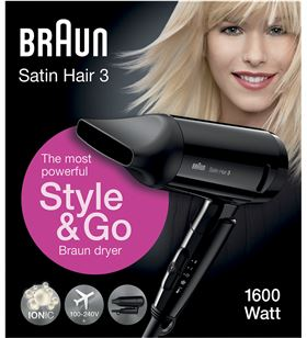 Secador de pelo Braun hd 350 HD350 Secadores de pelo - HD350