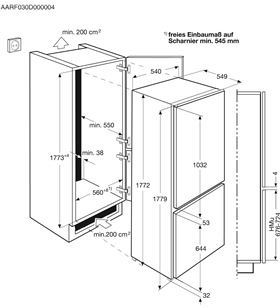 Electrolux frigorifico combi no frost ENN2812BOW clase a++ 177cm - ENN2812BOW