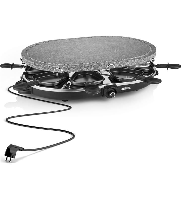 Family 8 stone & raclette set 1200 w Princess 1627 PS162720 - 24883384_4474466590