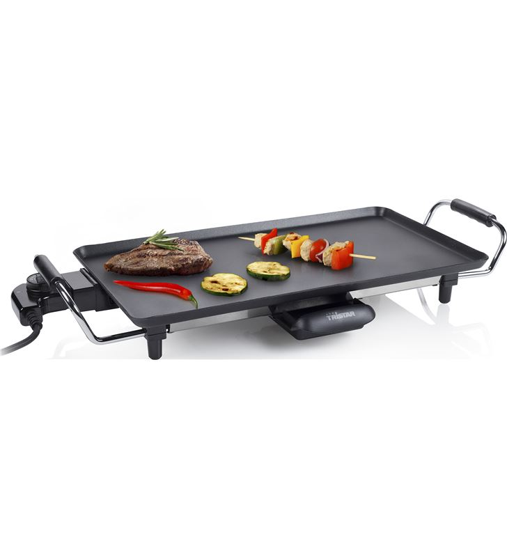 Plancha de cocina Tristar 46x26 TRIBP2965 Barbacoas, grills planchas - 3842643_9872599558