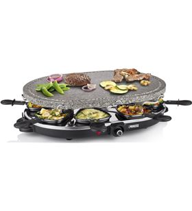 Family 8 stone & raclette set 1200 w Princess 1627 PS162720 - 8712836319950