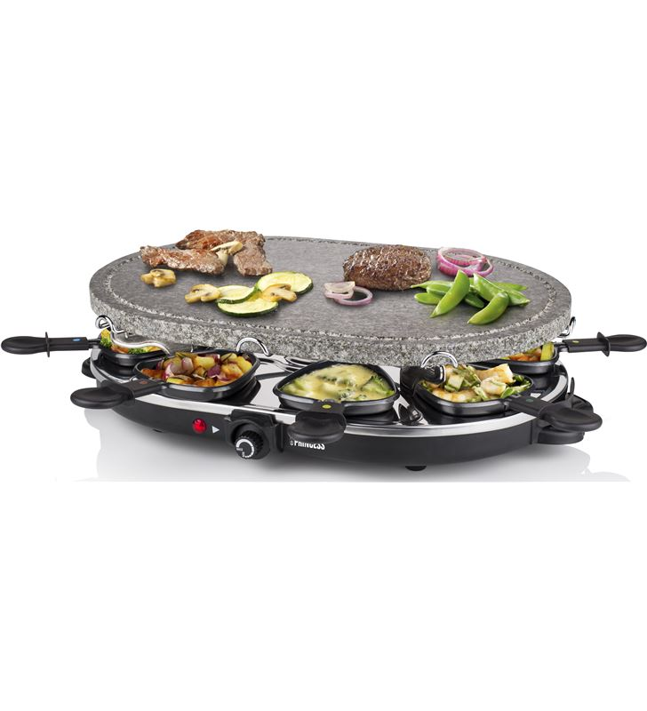 Family 8 stone & raclette set 1200 w Princess 1627 PS162720 - 24883384_7117695887