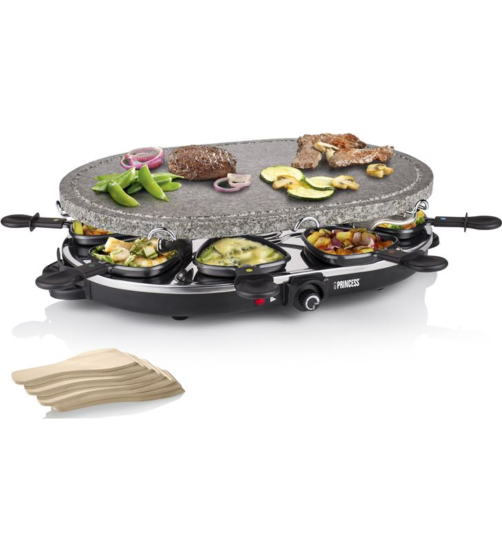 Princess PS162720 family 8 stone & raclette set 1200 w 1627 - 24883384_9661983721