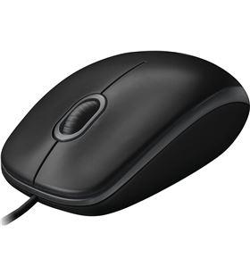 Informatica raton optico logitech b100 negro 910003357 - 910003357