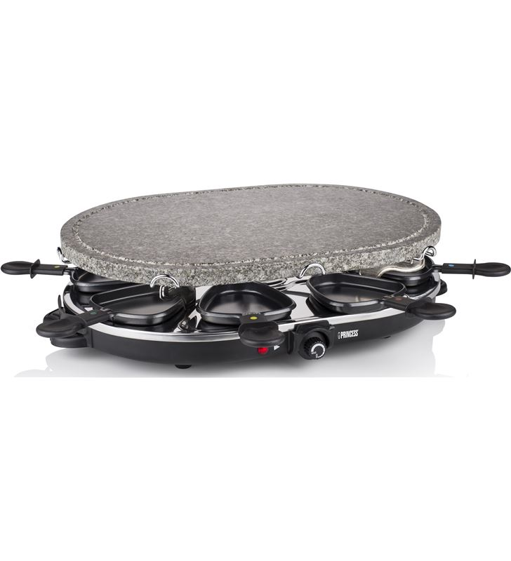 Family 8 stone & raclette set 1200 w Princess 1627 PS162720 - 24883384_4421466373