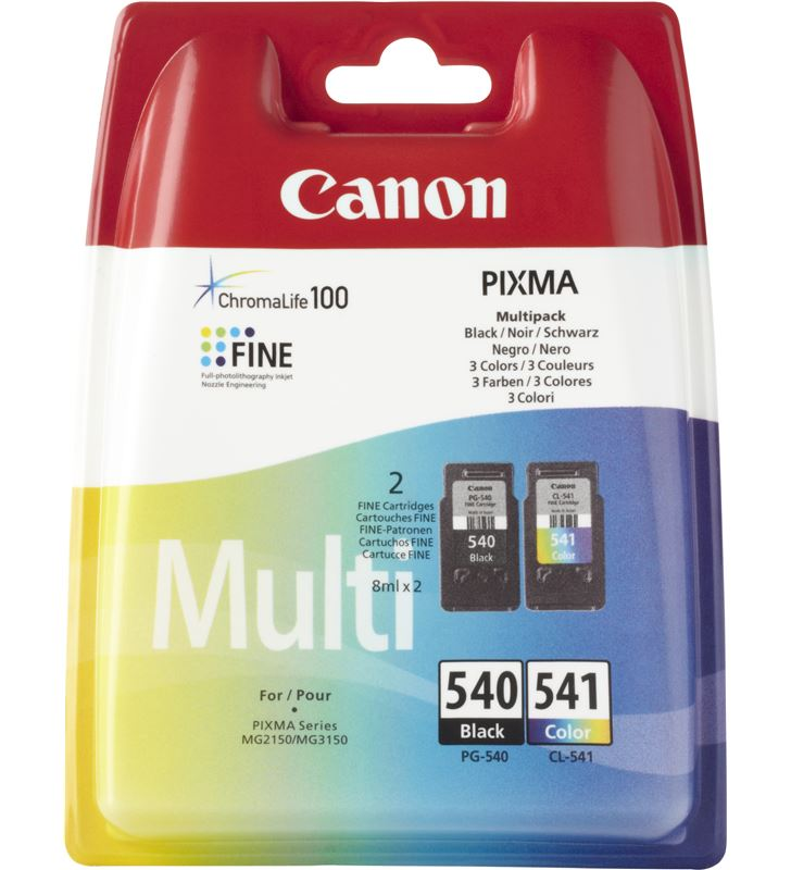 Canon cartucho tinta pg-540/cl-541 bl 5225B006 Fax digital cartuchos - 10790736_7400