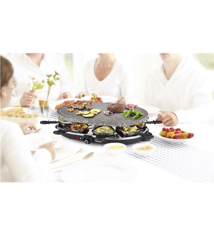 Princess PS162720 family 8 stone & raclette set 1200 w 1627 - 24883384_1632754614