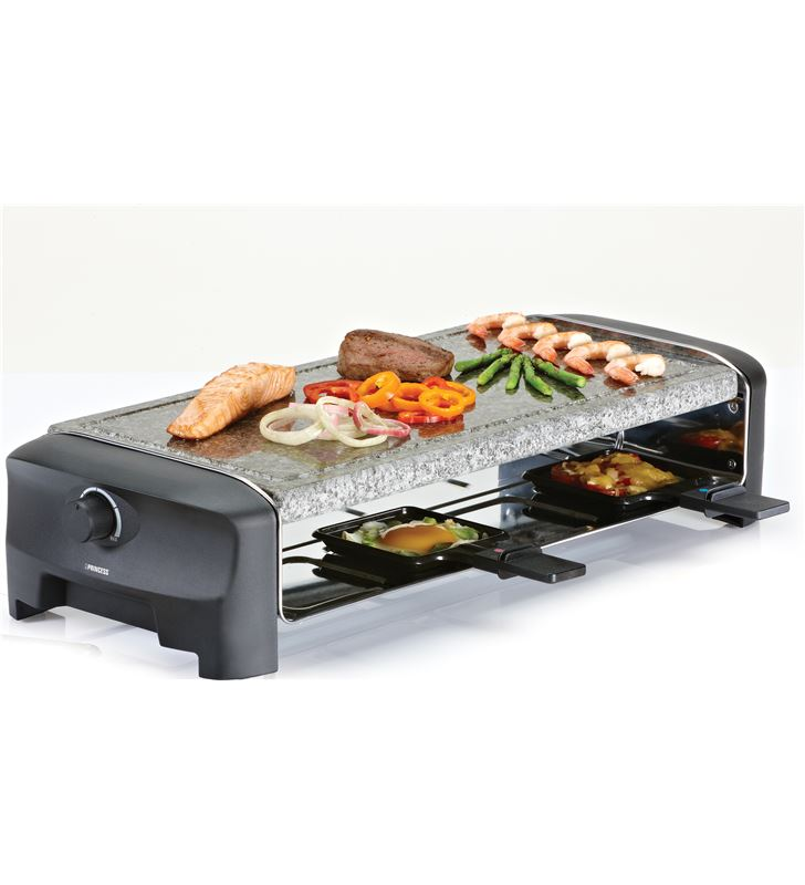 Princess 162830 raclette 8 stone grill party Raclettes Pierrades - 24883389_8676604476