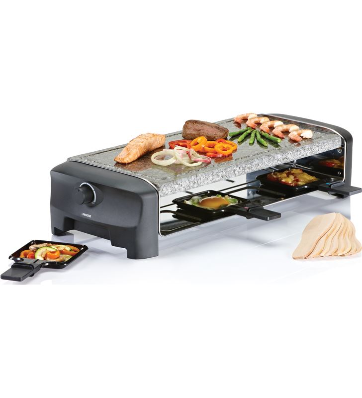Princess 162830 raclette 8 stone grill party Raclettes Pierrades - 24883389_1170002209
