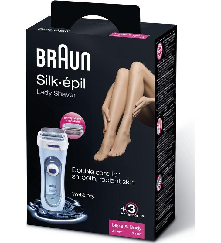 Braun afeitadora depiladora corporal LS5160 silk&s - 7924637_3912