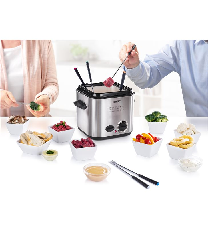 Princess mini fryer & foundue 12l 840 w ps182611 Freidoras - 1224915_5348114380