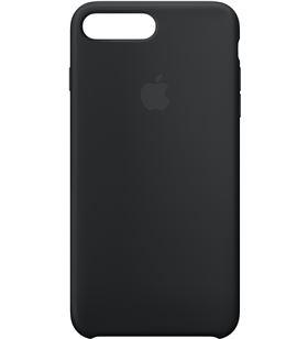 Apple MQGW2ZM/A funda iphone 8 plus / 7 plus silicona negra - MQGW2ZMA