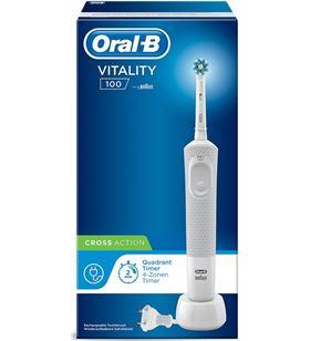 Cepillo dental Braun d100 vitality cross action blanco D100CABLANC - D100CABLANC