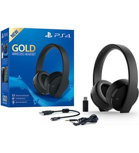 Auricular ps4 Sony gold wireless 9455165 Accesorios PS4 - 9455165