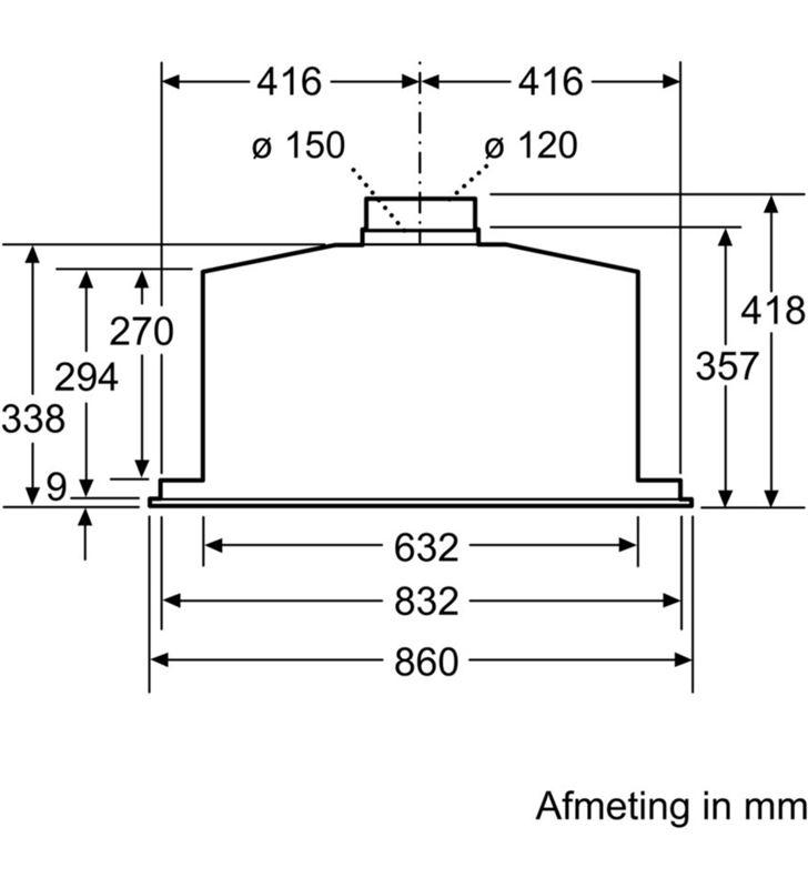 Siemens LB89585M , , extracción, módulo integración, a++, 86 cm, 800 m3/h, co - 70355448_7754682414