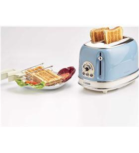 Ariete 15515 tostador 2 ranuras vintage azul, 810w, 2 ranuras - 15515