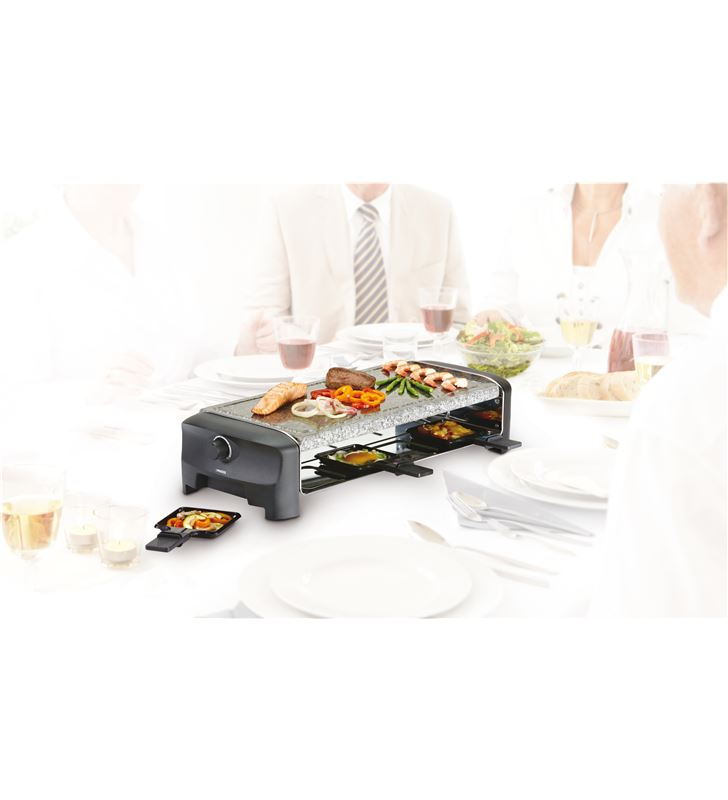 Princess 162830 raclette 8 stone grill party Raclettes Pierrades - 24883389_5857743042