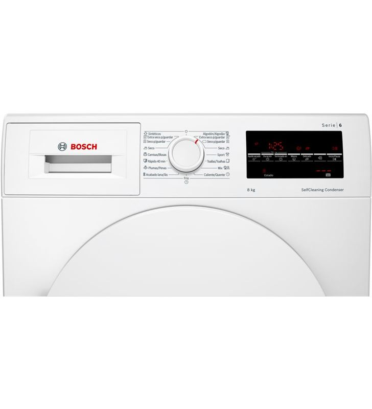 Bosch, WTW87641ES, secadora, bomba de calor, a+++, libre instalación, 60 cm - WTW87641ES.4