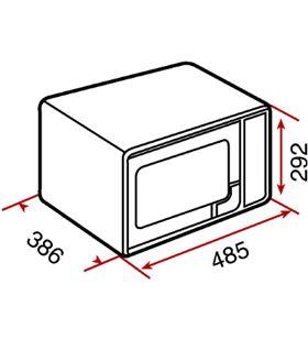 Teka 40590440 microondas grill 23l mwe230g inox Microondas - 8421152112083