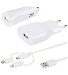 Kit carregadors universals Vivanco usb cable lightning 36262 - 4008928362626