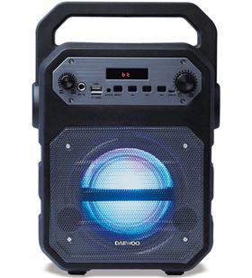 Altavoz karaoke bluetooth Daewoo dsk-345 fm/usb/sd/micrófono negro DBF252 - 8413240603764