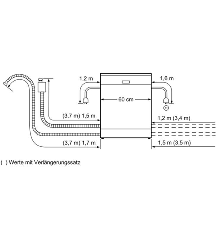 Bosch SMS46MI19E , , lavavajillas, e, libre instalación, 60 cm , 14 servici - SMS46MI19E-6