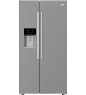 Beko americano / neo frost / inox electronico / snt / zona 0º / disp. agua y hie modelo nuevo - 8690842198779