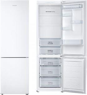 Combi Samsung RB37J500MWW/EF 201cm nf blanco a+++ Frigoríficos combinados - 8806088855790