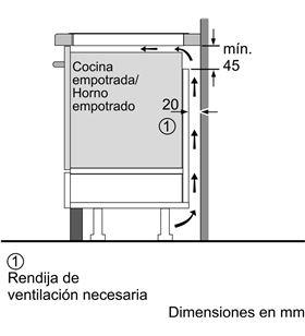 Balay, 3EB985LU, encimera, inducción, encastrable, 80 cm, 4, negra/biselada - 4242006287924