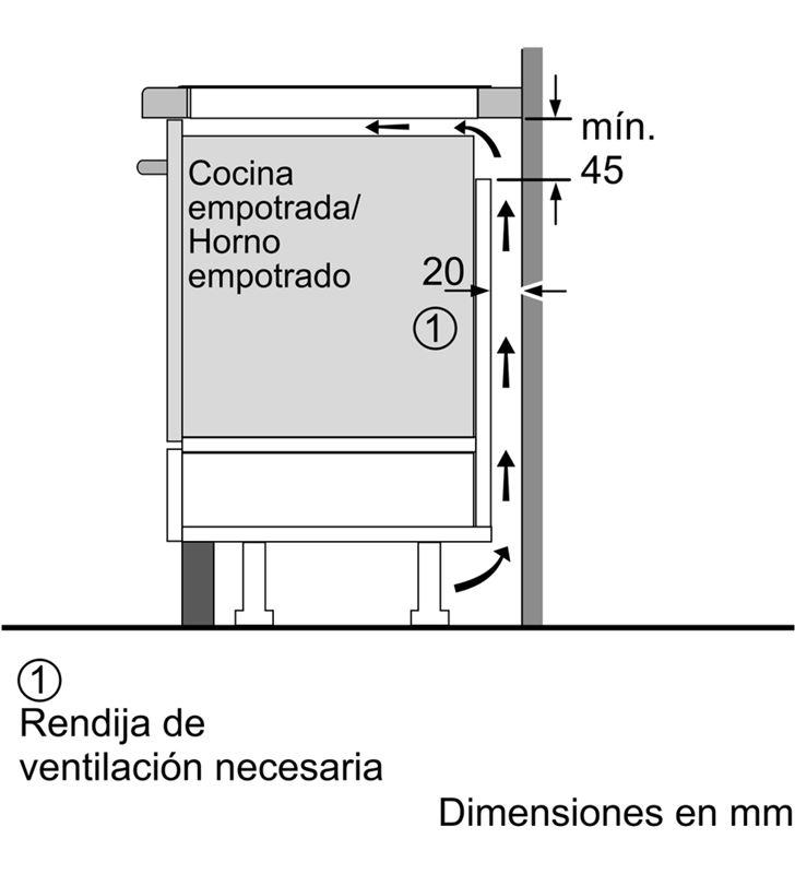 Balay, 3EB985LU, encimera, inducción, encastrable, 80 cm, 4, negra/biselada - 4242006287924-