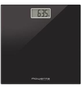Rowenta BS1060V0 bascula de baño premiss negra Básculas - BS1060V0