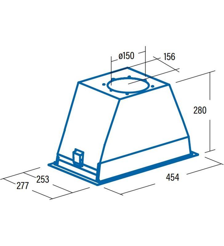 Cata 02030301 - grupo filtrante integrado gt plus 45x para mueble de 60cm c GT PLUS 45 X - 70356533_2402275422