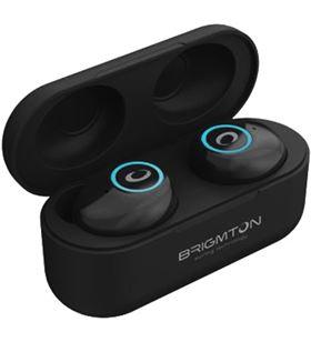 Brigmton BML16N auriculares inalámbricos bluetooth true wireless bml16 manos libre - BRIBML16N