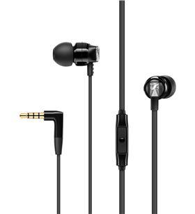 Auriculares boton Sennheiser cx300s microfono control remoto negro 508593 - 508593