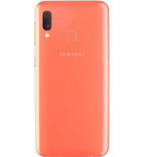 -Movil Samsung galaxy a20 5.8'' 3gb ram 32gb 13/5mp + 8mp coral SM-A202FZODPHE - SM-A202FZODPHE