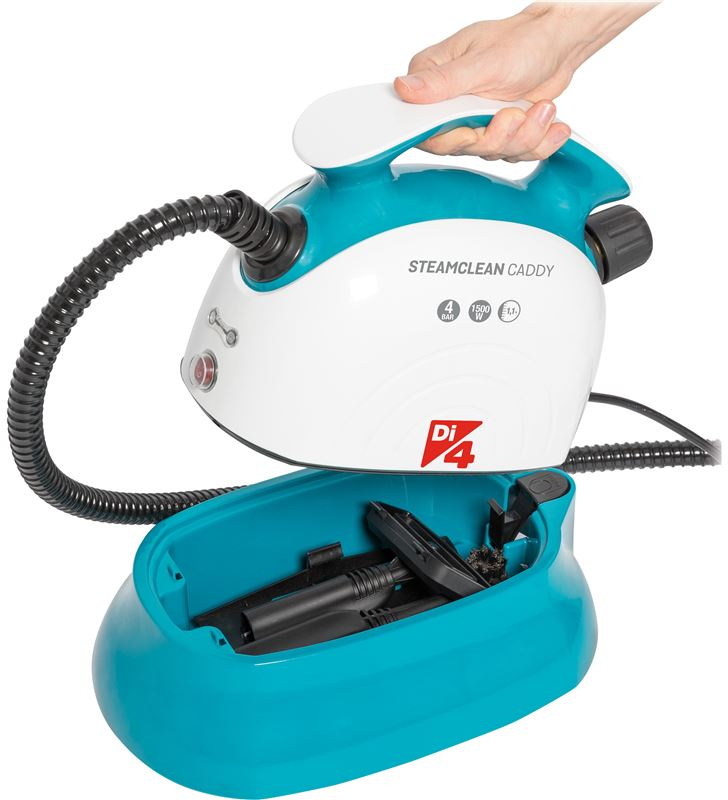 Di4 82104277 limpiador vapor caddy steamclean 1500w 1.1l - 63551701_6926134645