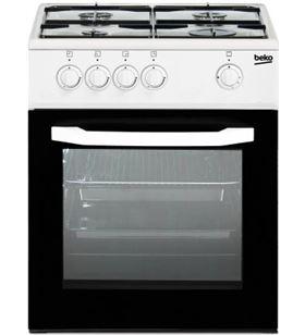 Beko cocina convencional CSG42009DW 4 fuegos butano