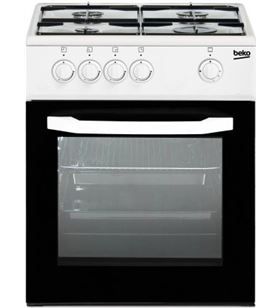 Beko cocina convencional CSG42009DW 4 fuegos
