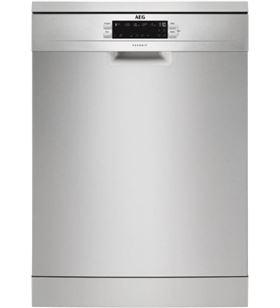 Aeg FFB53910ZM lavavajillas 14 servicios 5 programas 46 db clase d acero - FFB53910ZM
