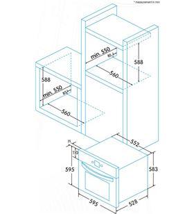 Edesa EOE5010X horno eoe-5010 x Hornos eléctricos independientes - EOE5010X