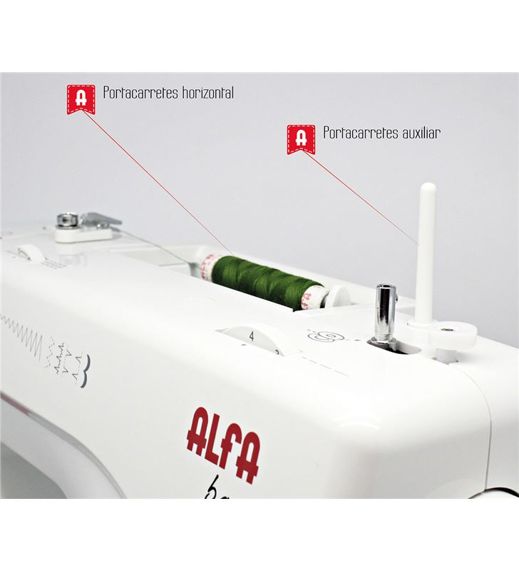 Alfa BASIC720 maquina coser Máquinas - 63146399_8532484280