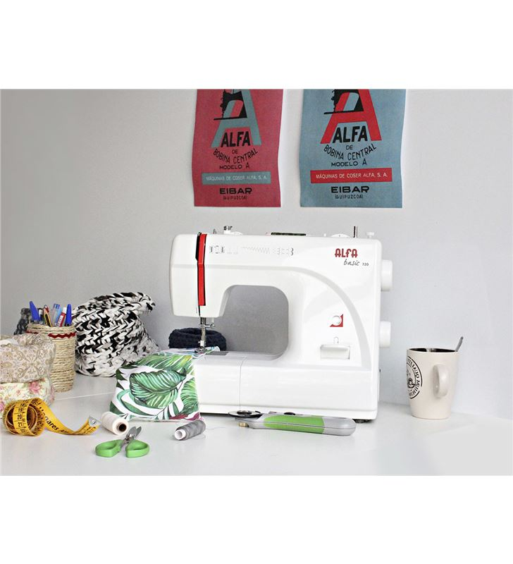 Alfa BASIC720 maquina coser Máquinas - 63146399_2545471169