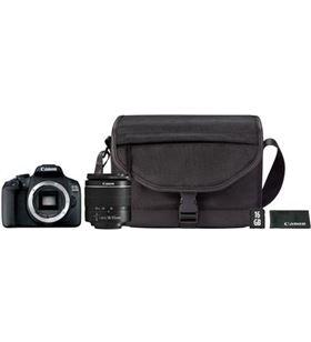 Canon 2728C054 cámara reflex eos2000d 18-55dc+ bolsa+sd+limpiador - CAN2728C054