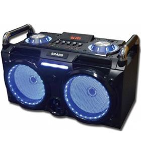 Mini cadena portatil Sakkyo DJ630 bateria recargable 300w karaoke - 8401551012504