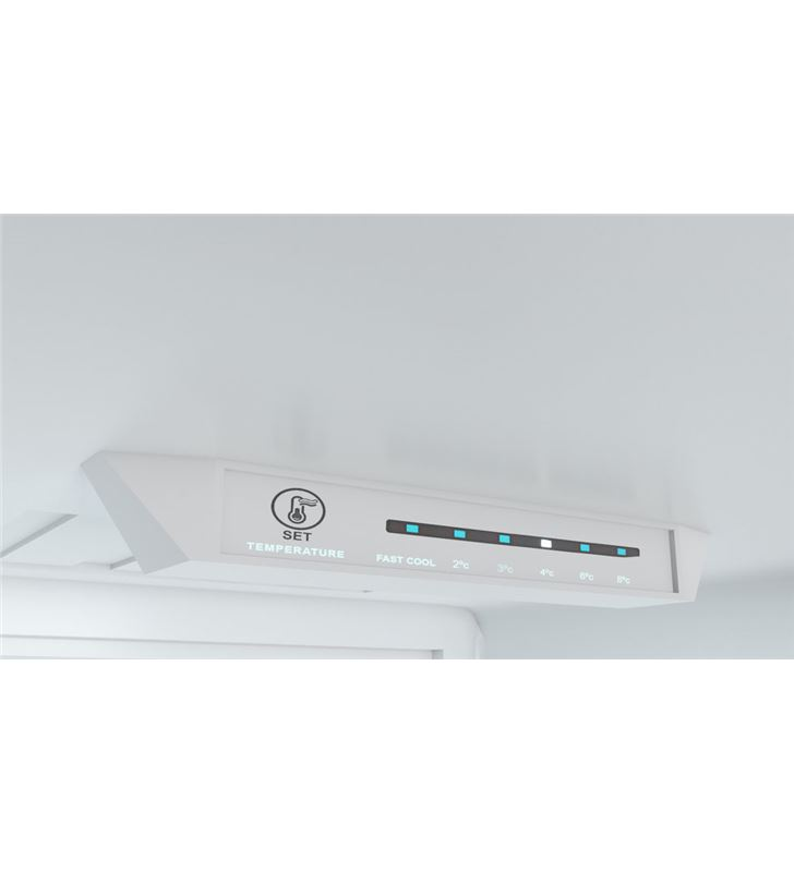 Teka 113420001 frigorífico combi nfl 342 wh clase e 188x60 no frost blanco - 8434778004014-2