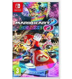 Nintendo SWMARK8D juego de consola mario kart 8 delux switch 6420291 - 045496420291