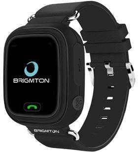Smartwatch Brigmton bwath kids localizador gps sim negro BWATCHKIDSN